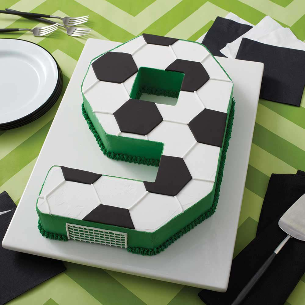 Soccer Cake Soccer Themed Cake Ideas Wilton