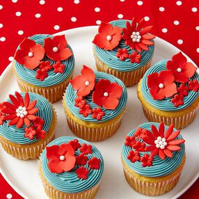 Water Lily Cupcakes