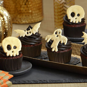 Candy Creeper Halloween Cupcakes