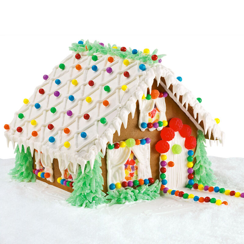 Festive Fir Palace Gingerbread House image number 0