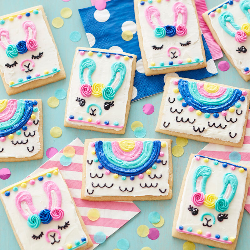 Lovely Llama Cookies image number 0