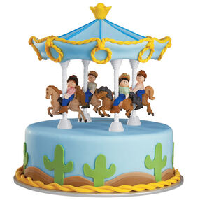 The Posse Is Circling! Cake