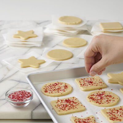 Adding Sprinkles to Sugar Cookies