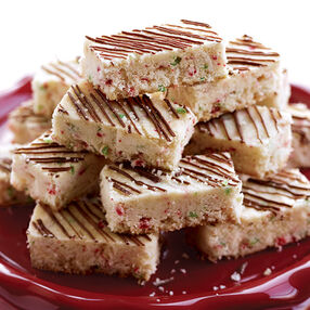 Colorburst Shortbread Bars