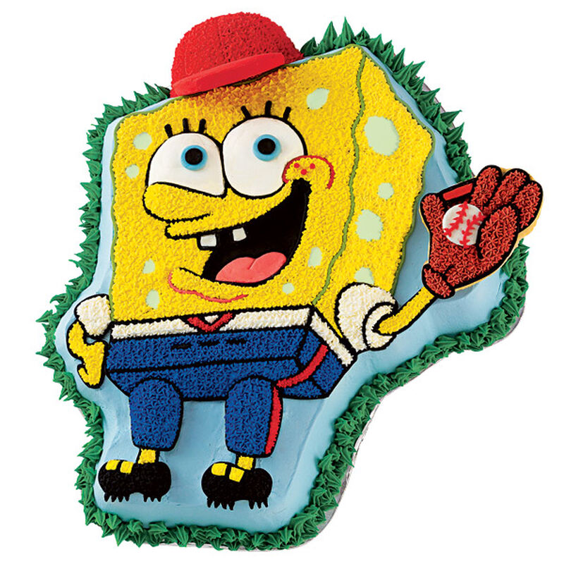 SpongeBob Takes the Field Cake image number 0