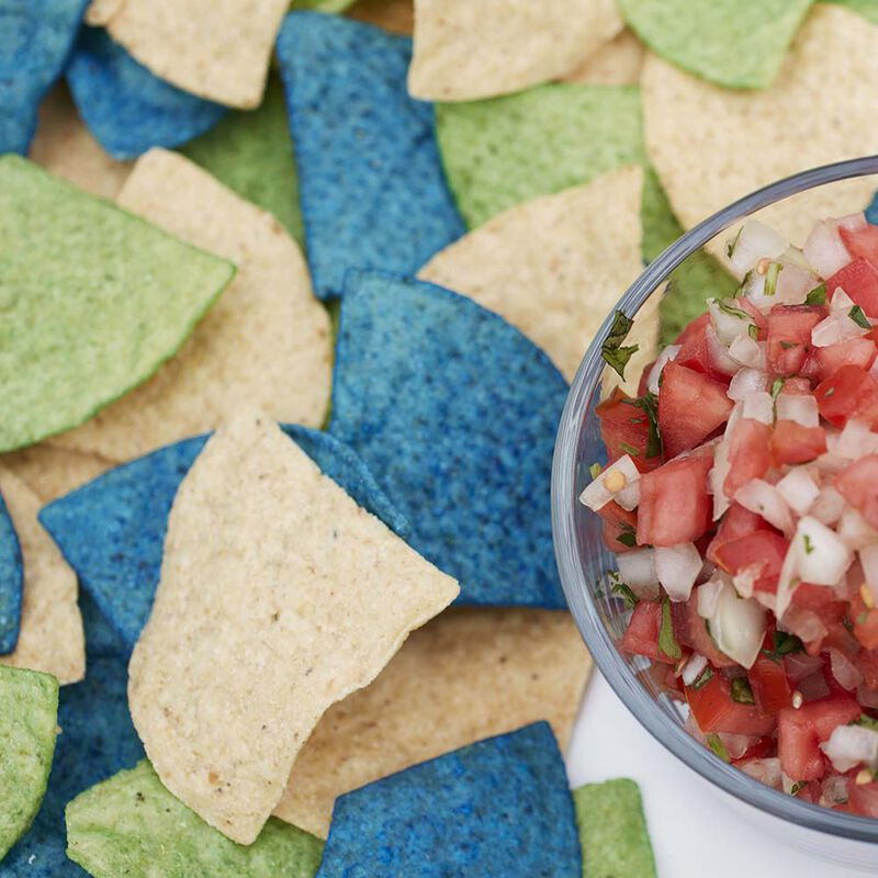 Wilton Colorful Tortilla Chips image number 0