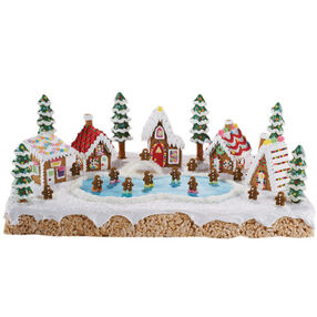 Skating Retreat Gingerbread Village