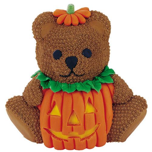 Pumpkin Teddy Bear Cake Wilton