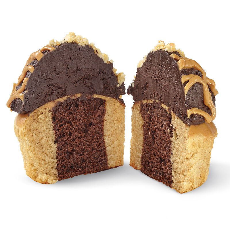 Peanut Butter and Chocolate Cupcake image number 1