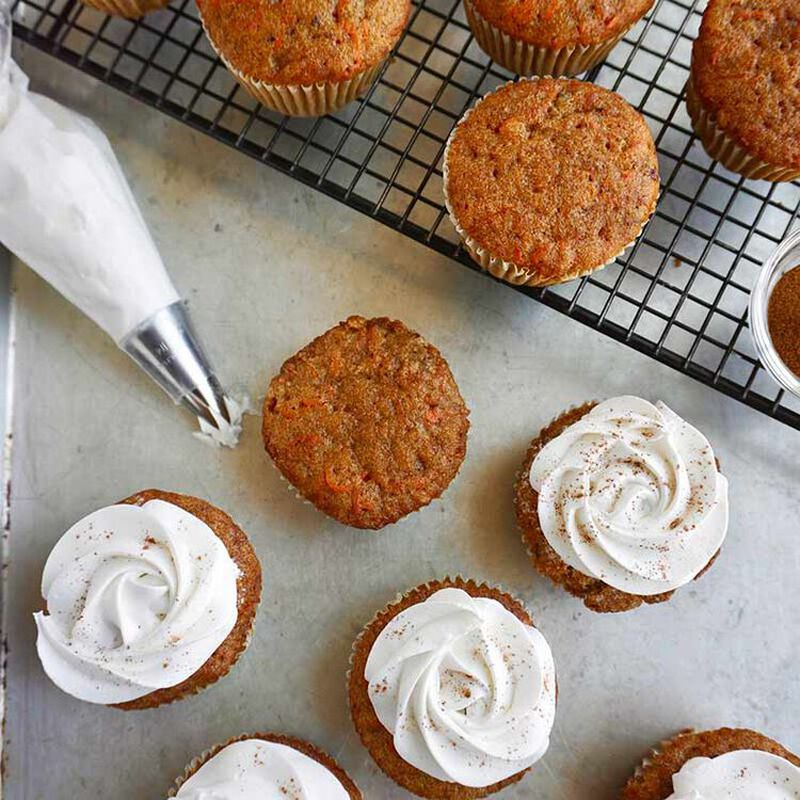 carrot cake cupcakes image number 0