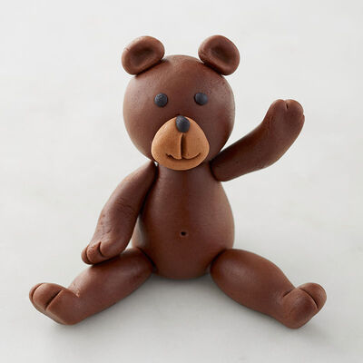 Finished Fondant Teddy Bear