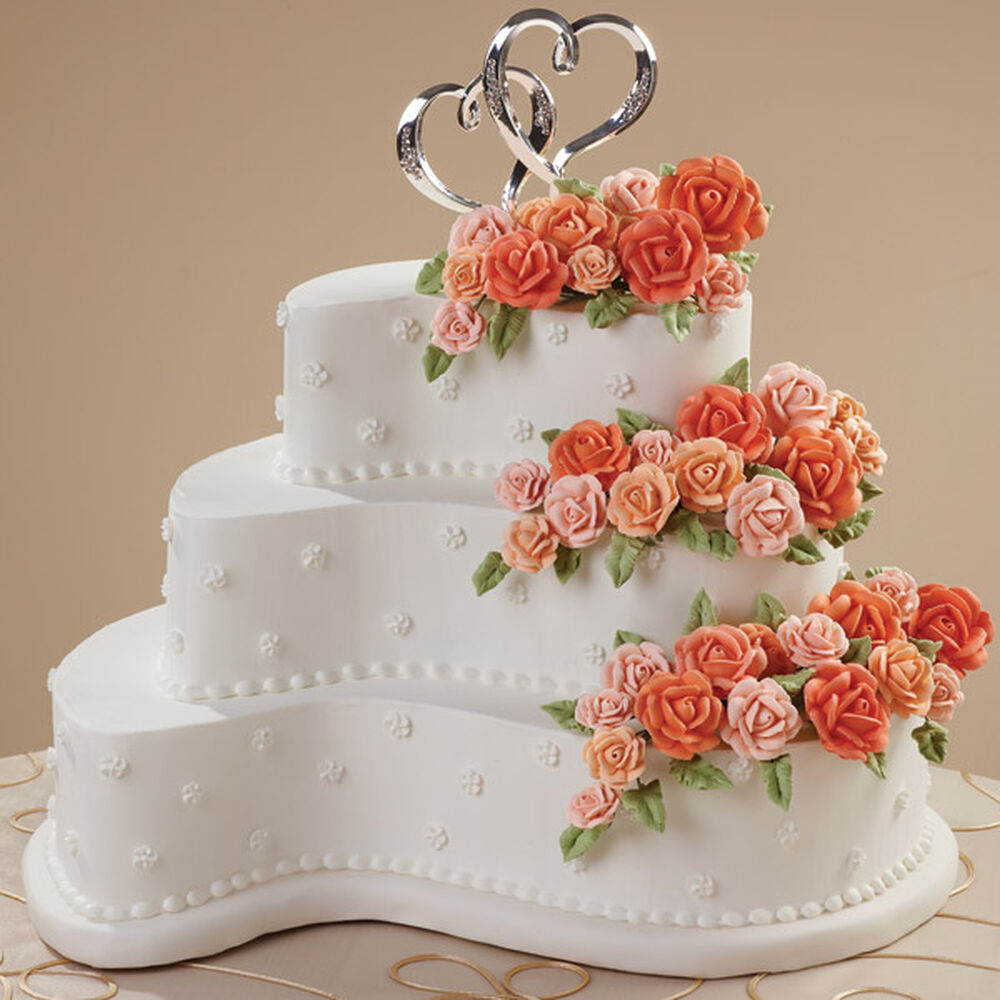 Wedding Cakes Pans.Contemporary Curves Cake