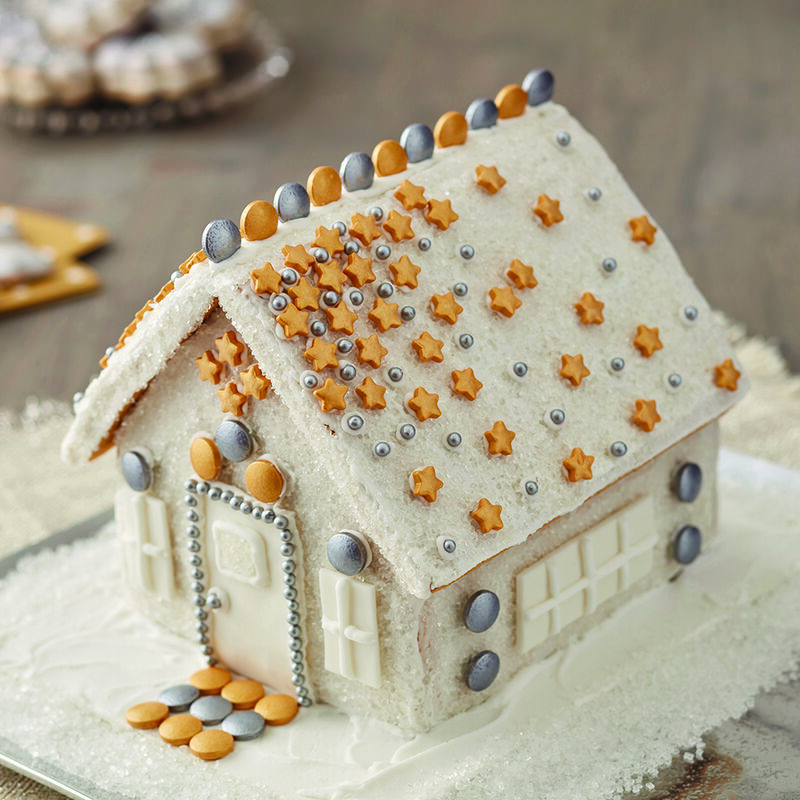 More Bling Gingerbread House image number 1