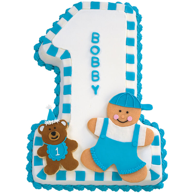 One For My Baby Boy Cake image number 0