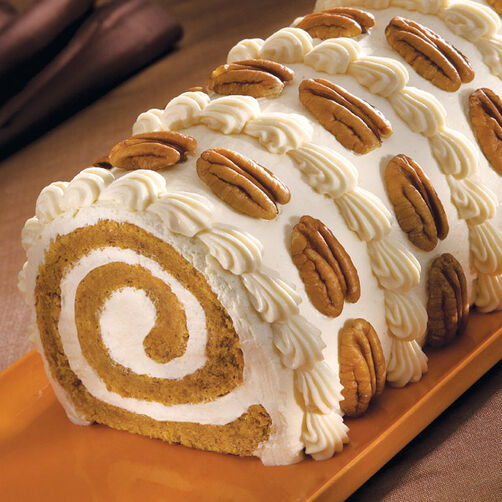 Pumpkin Roll Cake Recipe Wilton