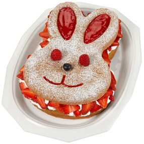 Berry Bunny Easter Cake