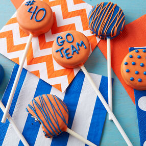 School Spirit Cookie Pops
