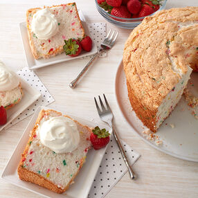 Celebration Angel Food Cake Recipe