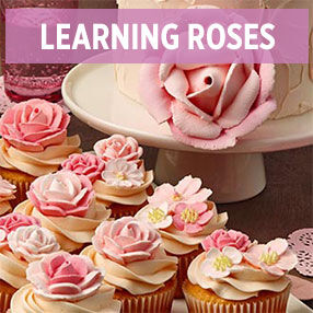 Learning Buttercream Roses Class