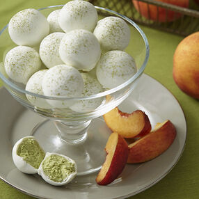 Peach and Green Tea Truffles Recipe