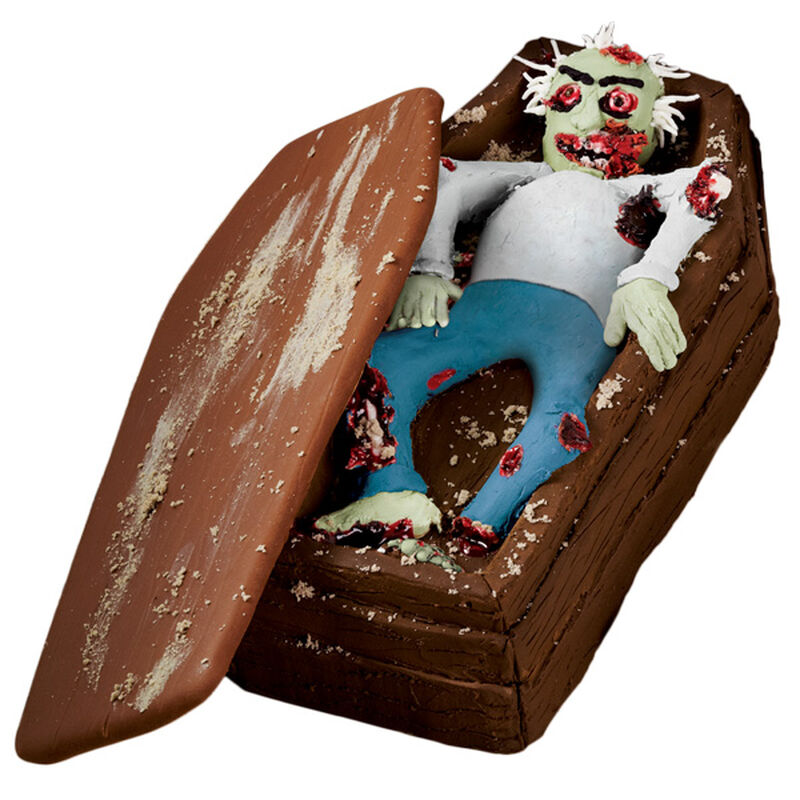 The Zombie Wakes Coffin Cake image number 0
