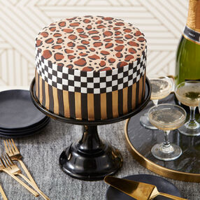 Wild About You Leopard Print Cake