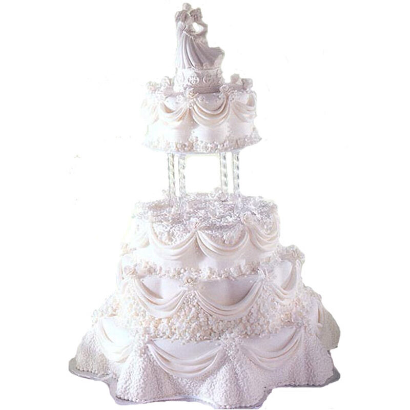 A Delicate Drape Cake image number 0