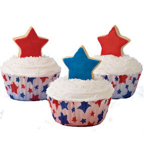 Standing up for Freedom Cupcake