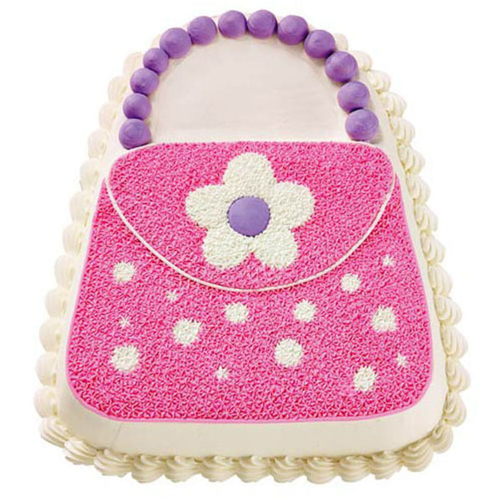 Pink Purse Cake Zoom