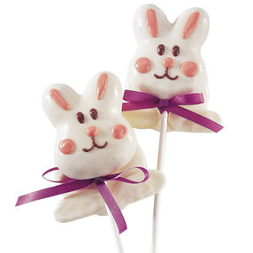Bunny Take a Bow Cookie Pop