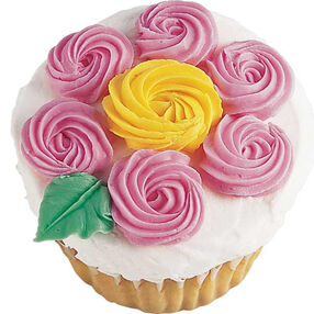 A Blooming Treat Cupcake