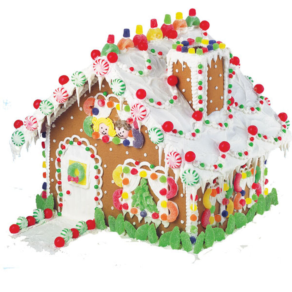 Gingerbread Home Decor: Home For The Holidays Gingerbread House
