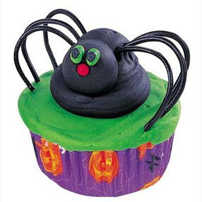 Silly Spiders Cupcakes