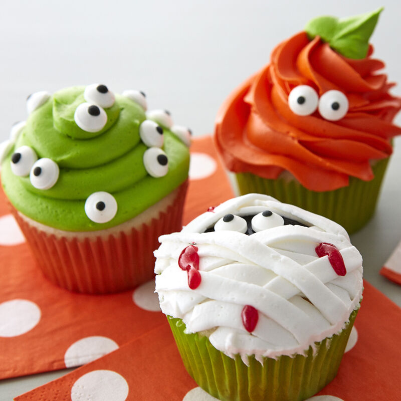 Easy kids Halloween cupcakes image number 1