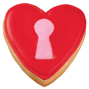 Key to My Heart Pan Cookies