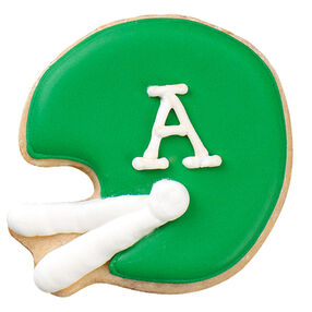 Football Helmet Cookie