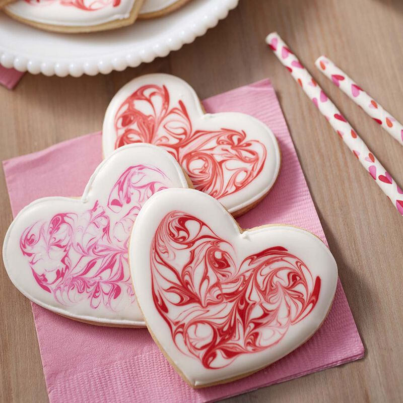 Valentine's Day Heart Sugar Cookies image number 0