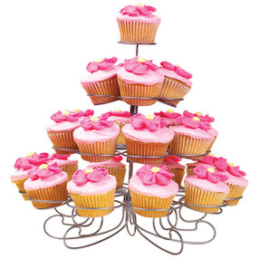 Shower Flowers Cupcakes