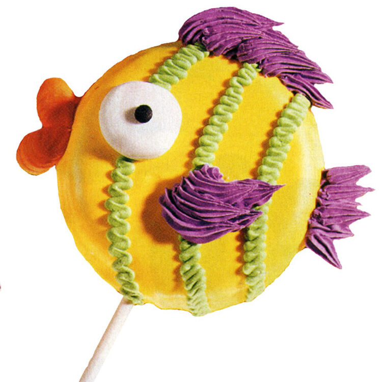 Fishing for Compliments Cookie Pops