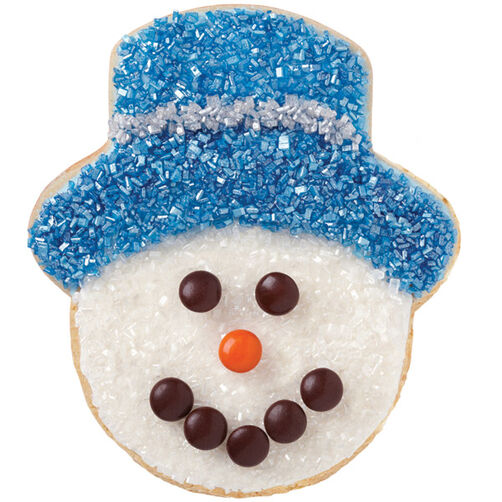 Sugar-Sparkled Snowman Cookies