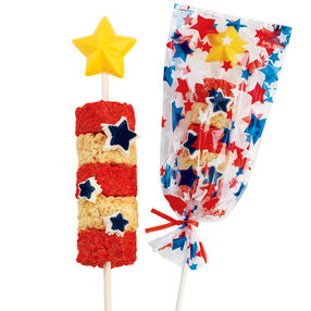 Patriot Pops Cereal Treats