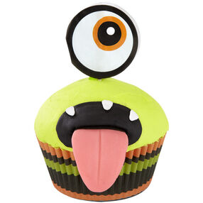Ahhh-some Monster Cupcake