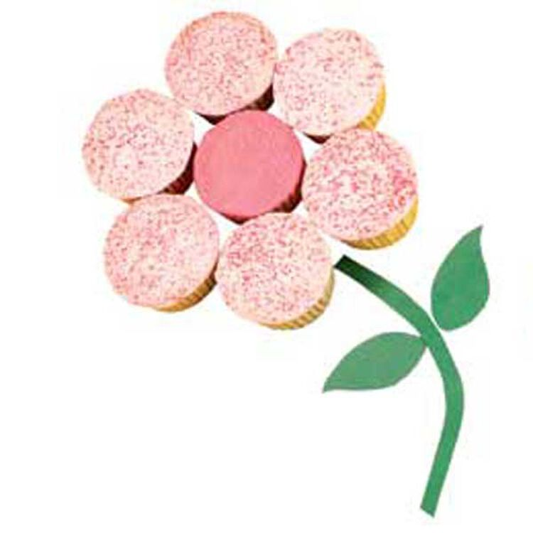 Blooming Bright Cupcakes