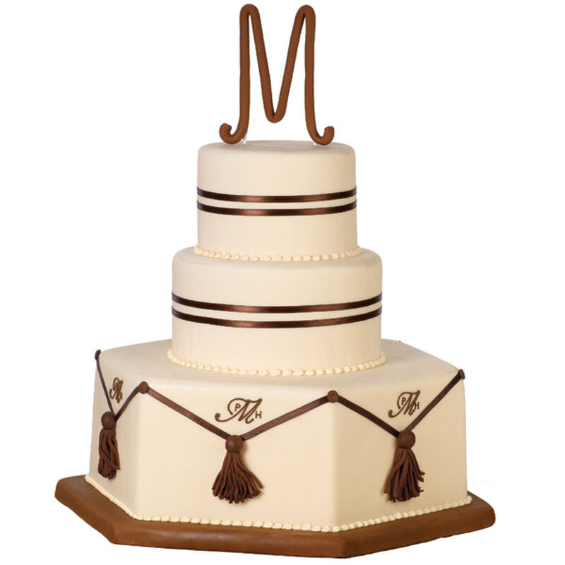 Their Official Initials Cake image number 0