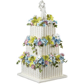 A Kiss in the Garden Cake