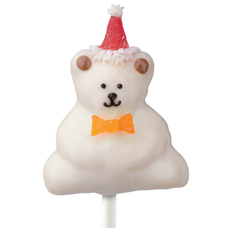 Birthday Bear Cake on a Stick image number 0