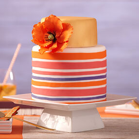 Eyepopping Poppy Cake