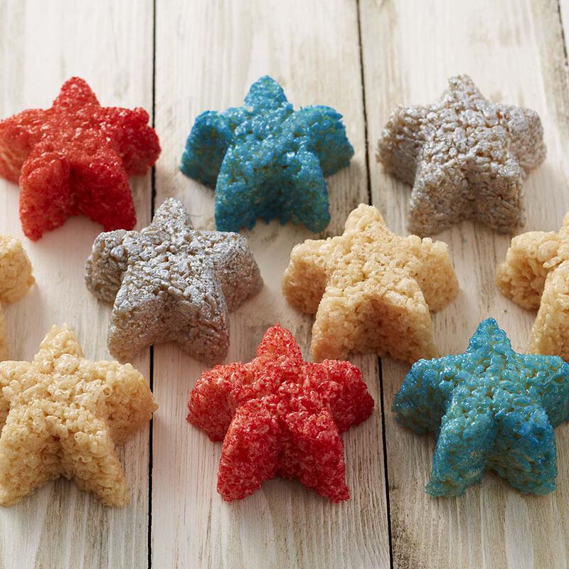 Wilton Star-Spangled Crisped Rice Cereal Treats image number 1