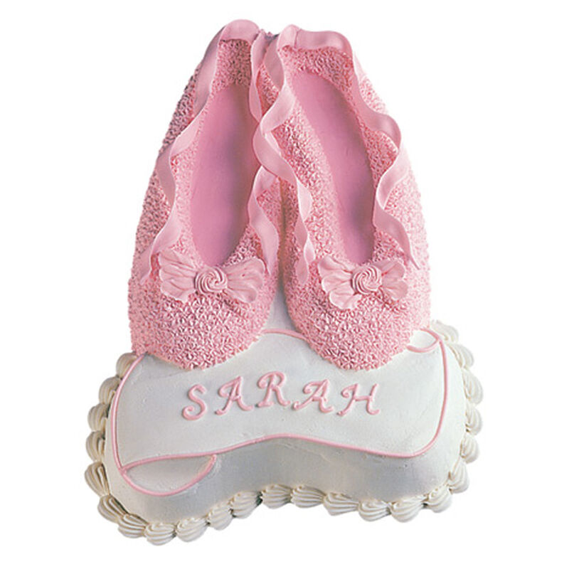 Ballet Slippers Cake  image number 0