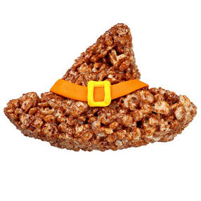 Bewitching Hat Crispy Rice Cereal Treat